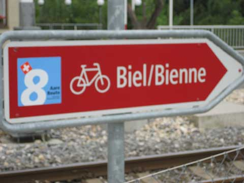 Aare Route, Velo-Route 8 (CH)